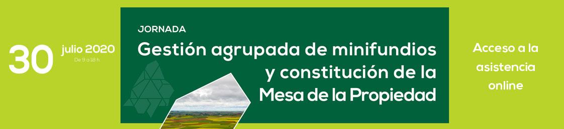 Jornada sobre gestión agrupada de minifundios y la constitución de la Mesa de la Propiedad